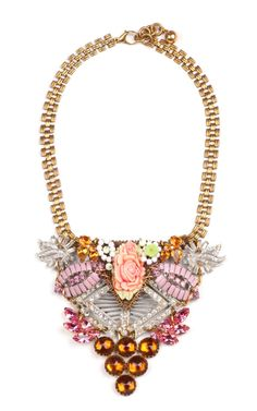 100 Year Necklace Featuring Vintage Parts From 1860-1960 by Lulu Frost for Preorder on Moda Operandi
