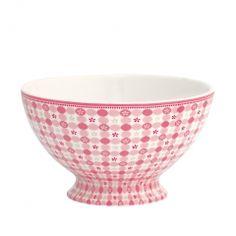 La Petite Marchande - Bol Mimi Pink motifs+vichy GREENGATE  STWSOUMIM1506