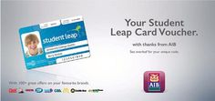 What is the Student Leap Card — Student Leap Card Student Discounts, Dublin, Your Cards, You Got This, Thankful, Coding, How To Get, Programming