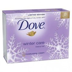 Dove Winter Care Soap - this is one of the only soaps we can both use. It can be hard to find.