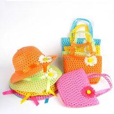 Amyove Clothing Sets Baby Girls Sleeveless Pearl Bowknot Floral Printing Princess Tops Hat Set Shorts