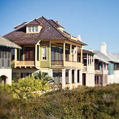 All About Rosemary Beach | Rosemary Beach Architecture | CoastalLiving.com