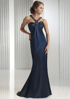 Shop JJ's House for the most flattering & on-trend special occasion dresses at prices you'll love. Shop glam evening dresses, cocktail dresses, prom dresses and other elegant formal dresses right now. Midnight Blue Prom Dresses, Blue Evening Dresses, Prom Dresses Blue, Evening Gowns, Formal Dresses, Bridesmaid Dresses, Wedding Dresses, Criss Cross, Vestidos Halter