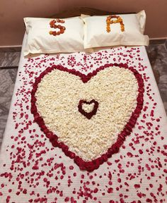 Wedding night decoration Wedding Night Room Decorations, Romantic Room Decoration, Romantic Bedroom Design, Beautiful Love Images, Love Heart Images, Cute Love Pictures, Love Painting Images, S Letter Images, Alphabet Tattoo Designs