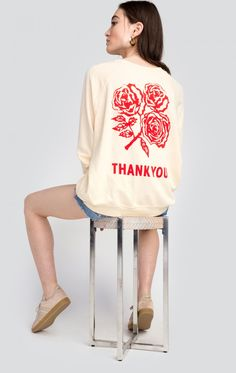 WILDFOX - Thank You Sommers Sweater