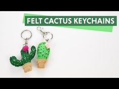 Felt is one of my favorite materials to work with since it is affordable and it looks great. This time I have made these adorable cactus keychains, and they came up better that I have expected.This is an easy DIY but like any other handcrafted project, it's time consuming but …
