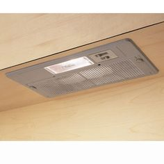 Concealed Cooker Hood with Lights