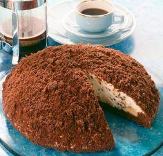 Maulwurfkuchen - Ein sahniger Kuchen mit Bananen und einer Streuselhaube