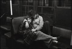 Stanley Kubrick, A Couple on Subway, 1946