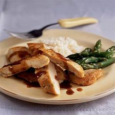 Chinese-Style Glazed Chicken Breasts | MyRecipes.com #MyPlate #protein