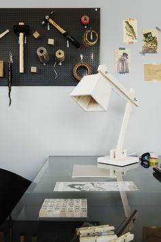 work space organized