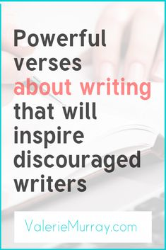 Are you feeling discouraged as a writer? Here are some powerful Bible verses about writing that will inspire you to write when you feel like giving up. Christian Marriage, Christian Faith, Christian Quotes, Christian Women, Powerful Bible Verses, Feeling Discouraged, Feel Like Giving Up, Christian Living, Christian Inspiration