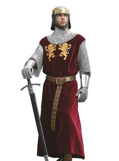 Carnival Costumes, Halloween Costumes, Medieval Knight Costume, Armadura Medieval, King Richard, Medieval Clothing, Retro Vintage, Cosplay, Poses