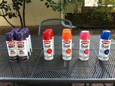 Reader Re-Do: A Colorful Patio Furniture Makeover #Curbly-Original, #Krylon