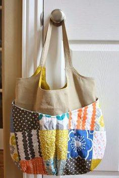 6bf8cbfd4 Ficam aqui algumas ideias para costurarmos malas para este Verão. Podem ser  para ir até