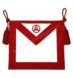 Masonic Royal Arch Mason Member Apron Royal Arch Masons, Aprons, Flag, Art, Art Background, Kunst, Science, Gcse Art, Apron