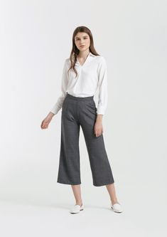 Shop effortless, minimalist & modern ready-to-wear here. We make quality & affordable fashion since We ship worldwide. Modern Minimalist, Affordable Fashion, Ready To Wear, Pants, How To Wear, Shopping, Clothes, Outfit, Trousers