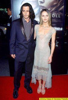 Johnny Depp + Vanessa Paradis