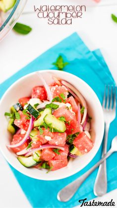The perfect sweet and savory salad for summer.