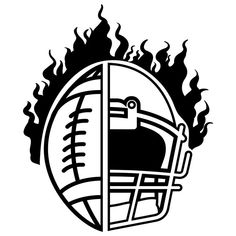 Football Tattoo, Football Clip Art, Football Banner, Football Crafts, Alabama Football, Football Team, Football Paintings, Football Drawings, American Football