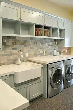 Incredibly Small Laundry Room Decoration Ideas 41