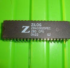 vintage zilog z80 cpu