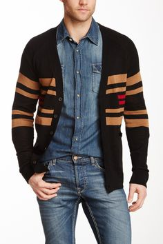 I quite like this look – the cardigan as the top layer takes some of the Canadianness out of it.
