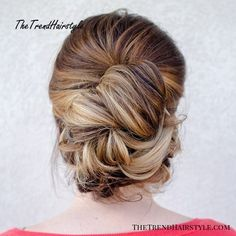 Casual updo for thick hair. casual updo for thick hair best wedding hairstyles Haircut Styles For Women, Short Haircut Styles, Long Hair Styles, Thick Hair Updo, Short Hair Updo, Hair Plaits, Easy Updo Hairstyles, Easy Hairstyles For Medium Hair, Casual Updo Hairstyles