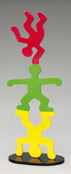 Keith Haring Totem