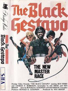 The Black Gestapo (1975) Nazis/Blaxploitation/Wierdness