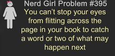 This happens way too often. Them I'm like agh noooo I still need to read what happened before!