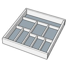 Digital plans from the 3 DIY Kitchen Organization Storage Projects post. PDF Plan contains: - Parts list & cut diagrams - drawings Plastic Drawer Organizer, Diy Drawer Dividers, Drawer Organisers, Kitchen Organisation, Diy Kitchen Storage, Organization, Wooden Drawers, Diy Drawers, Table Saw Sled