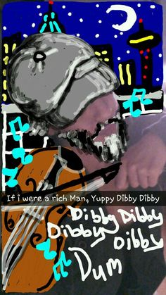 SnapChat- Fiddler on the Roof Fiddler On The Roof, Snapchat, Broadway, Comic Books, Comics, Artist, Movie Posters, Fictional Characters, Artists
