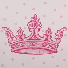 Wall Art By Theme Popular Artwork for Girls Pink Crown Inspired Square Canvas at PoshTots Future Tattoos, New Tattoos, Tatoos, Rosary Tattoos, Bracelet Tattoos, Heart Tattoos, Girly Tattoos, Skull Tattoos, Sleeve Tattoos