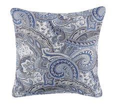 Therese Blue Outdoor Pillow