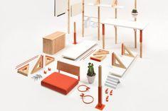 Modular Mobile office for Coroflot by LOS OSOS » Retail Design Blog