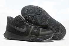 0ca524e9af0 Dressed in an all-Black color scheme. The upcoming Nike Kyrie 3 features a  full Black upper with matching tongue labels