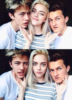 ☆ That's all I got left (gasping for air) ☆Brother + Sister Models: Lucky Blue Smith & Pyper America ((Character Reference: Louis Weasley..Dominique Weasley))