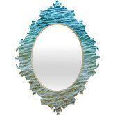 Found it at Wayfair - Shannon Clark Ombre Sea Baroque Wall Mirror