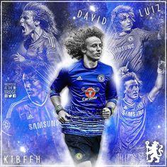 1a686cd6 Chelsea Fc, Chelsea Blue, David Luiz, Sideshow, Bob, Football, Graphic