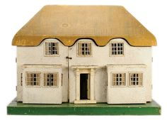 "Triang ""Princess Elizabeth"" Dolls House, No.6518, 1930's, modelled on Princess Elizabeth's (now Queen Elizabeth II) ""Y Bwthyn Bach"" (The Little House)."