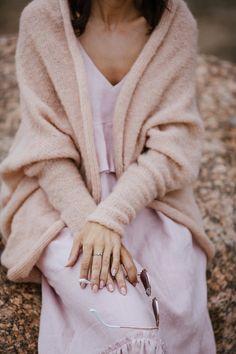 Bridal Cover Up, Bridal Bolero, Wedding Cape, Pink Sand, Silk Jacket, White Bridal, Boho Bride, Knit Fashion, Bridal Style