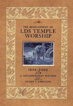 I would love a  Development of LDS Temple Worship, 1846-2000: A Documentary History / http://mormonfavorites.com/development-of-lds-temple-worship-1846-2000-a-documentary-history-2/