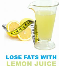 How To Lose Fats with Lemon Juice by zulmifun
