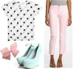 Fashion inspired by Bo Peep from Disney/Pixar's Toy Story