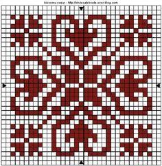 Would make a nice Biscornu Biscornu Cross Stitch, Cross Stitch Heart, Cross Stitch Borders, Cross Stitch Designs, Cross Stitching, Cross Stitch Embroidery, Cross Stitch Patterns, Crochet Cross, Crochet Chart