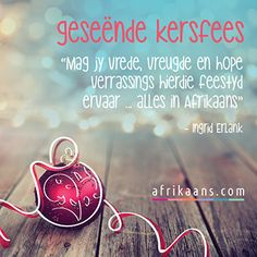 Afrikaans.com omskep jou woorde in 'n kaartjie Afrikaans, Van, Peace, Christmas Ornaments, Holiday Decor, Christmas Jewelry, Vans, Christmas Decorations, Sobriety