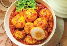 Indonesian Spicy Fried Boiled Eggs ( Telur Balado ) Recipes | Mukpin Recipes