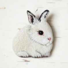 little bunny by cOnieco on Etsy