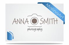 Photography Logo and Watermark...Logo design...Pre by malinaarts, $12.00